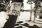 Boat Launch Posters - Launch Fee Poster by Scott Pellegrin