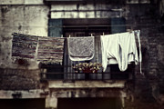 Pegs Prints - Laundry Print by Joana Kruse