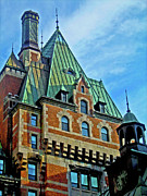 Quebec Art - Le Chateau ... by Juergen Weiss
