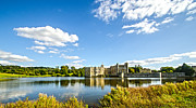 Moated Castle Prints - Leeds Castle Print by Chris Thaxter