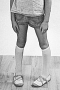 Childlike Metal Prints - Legs Of A Girl Metal Print by Joana Kruse