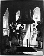 Newell Framed Prints - Liberty Bell, 1776 Framed Print by Granger