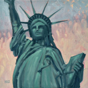 Liberty Paintings - Liberty by Donald Maier