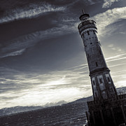 Storms Photos - Lighthouse by Joana Kruse