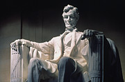 Daniel Prints - Lincoln Memorial: Statue Print by Granger