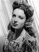 Print Blouse Prints - Linda Darnell Print by Everett