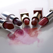 Lipstick Prints - Lipsticks Print by Bernard Jaubert