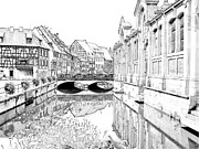 Haut Framed Prints - Little Venice Colmar France Framed Print by Joseph Hendrix