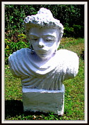 Paris Sculpture Framed Prints - Lord Buddha Framed Print by Anand Swaroop Manchiraju