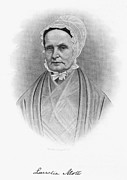 Quaker Framed Prints - Lucretia Coffin Mott Framed Print by Granger