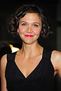 2010s Makeup Posters - Maggie Gyllenhaal At Arrivals For The Poster by Everett