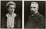 Pierre Photo Posters - Marie And Pierre Curie, French Physicists Poster by Humanities & Social Sciences Librarynew York Public Library