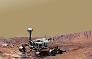 Laboratory Digital Art - Mars Science Laboratory by Stocktrek Images