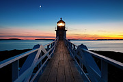 Marshall Point Light Print by Brian Jannsen