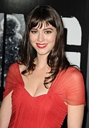 Bangs Framed Prints - Mary Elizabeth Winstead At Arrivals Framed Print by Everett