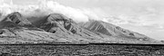 Mono Posters - Maui Pano Poster by Scott Pellegrin