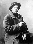 Naturalism Prints - Maxim Gorky 1868-1936 Wrote Print by Everett