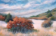 Prescott Paintings - Meandering near Prescott by Peggy Wrobleski