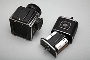 Film Camera Photo Prints - Medium Format Film Camera Print by Victor De Schwanberg