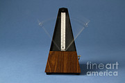 Music Time Photo Posters - Metronome Poster by Photo Researchers, Inc.