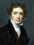 Young Adult Prints - Michael Faraday, British Physicist Print by Sheila Terry