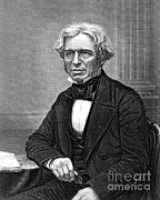 People Trained Posters - Michael Faraday, English Chemist Poster by Science Source