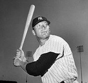 Athlete Photos - Mickey Mantle (1931-1995) by Granger
