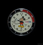Mice Originals - Mickey Mouse Watch Face by Rob Hans