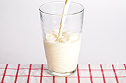 Dairy Foods Framed Prints - Milk Framed Print by Photo Researchers, Inc.