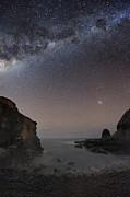 Milky Way Over Cape Schanck, Australia Print by Alex Cherney, Terrastro.com