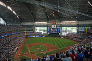 Brewers Photos - Miller Park by Steve Sturgill