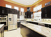 Florida House Photos - Modern Kitchen Interior by Skip Nall