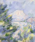 Midi Art - Mont Sainte-Victoire by Paul Cezanne