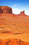Native America Framed Prints - Monument Valley Framed Print by Jane Rix