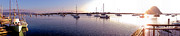 Morro Bay Prints - Morro Bay Print by Mickey Clausen
