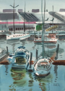 Fishing Boats Originals - Moss Landing by Donald Maier