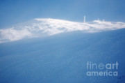 Blowing Snow Framed Prints - Mount Washington New Hampshire - Winter Framed Print by Erin Paul Donovan