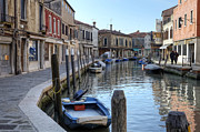 Channel Metal Prints - Murano Metal Print by Joana Kruse