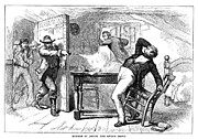 Anti Discrimination Prints - Murder Of Smith, 1844 Print by Granger