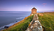 Pawel Posters - Mussenden Temple Poster by Pawel Klarecki