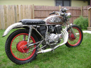 Don Thibodeaux Art - My Motorcycle by Don Thibodeaux