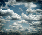 Clouds Photographs Posters - My Sky Your Sky  Poster by Jerry Cordeiro