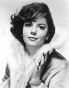 1950s Fashion Prints - Natalie Wood, 1960s Print by Everett