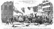 Thug Framed Prints - New York Gang War, 1857 Framed Print by Granger