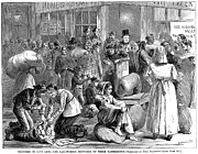 American City Prints - New York: Poverty, 1868 Print by Granger