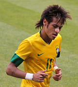 Neymar Photos - Neymar Junior by Lee Dos Santos