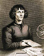Copernicus Photo Prints - Nicolaus Copernicus, Polish Astronomer Print by Science Source
