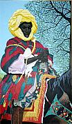 Bernard Goodman Metal Prints - Nigerian On Horseback Metal Print by Bernard Goodman