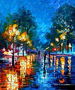 Leonid Afremov - Night Park