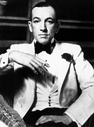 Smoker Framed Prints - Noel Coward (1899-1973) Framed Print by Granger